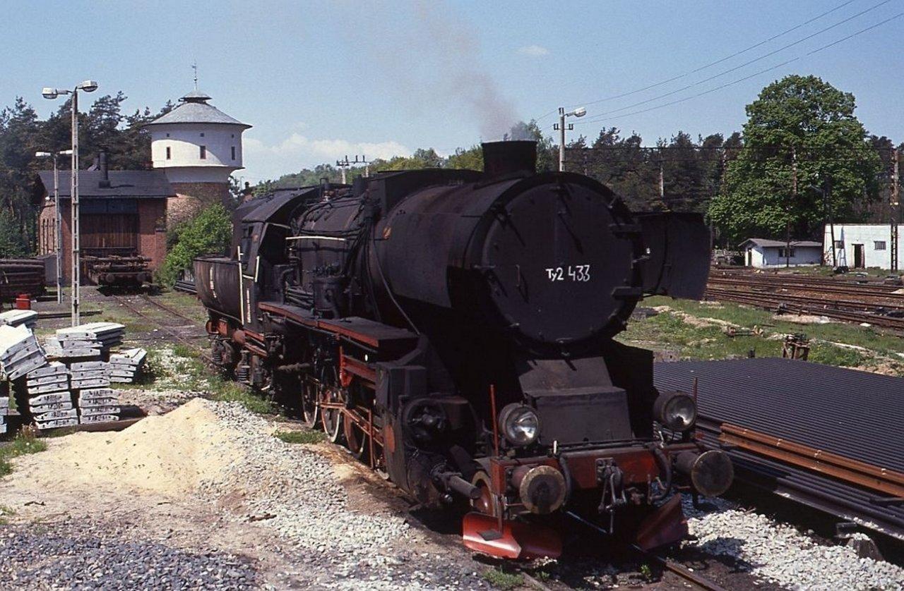 1991 , Stacja kolejowa w Toporowie..jpg