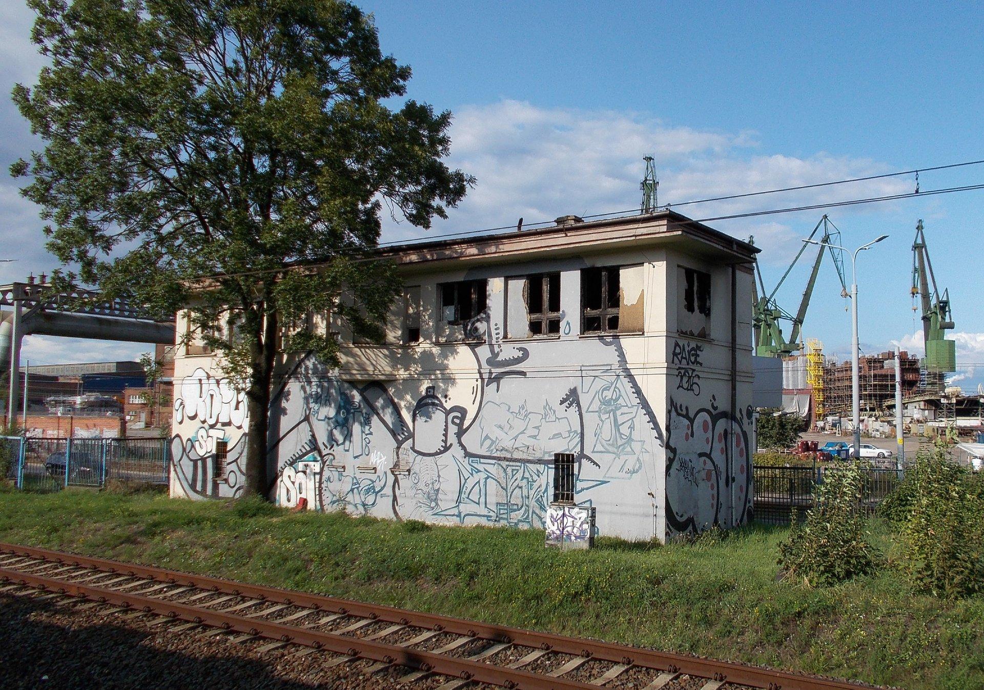 Była nastawnia - Gdańsk Stocznia.JPG