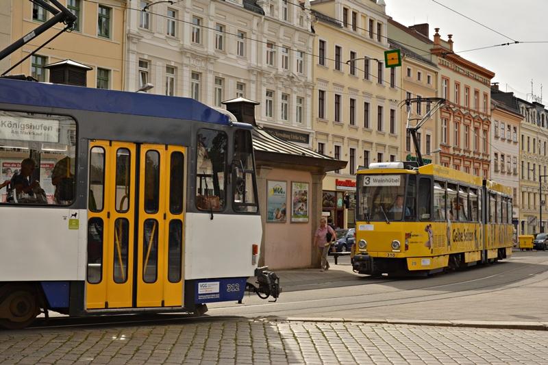 Centralny przystanek przy Postplatz..JPG