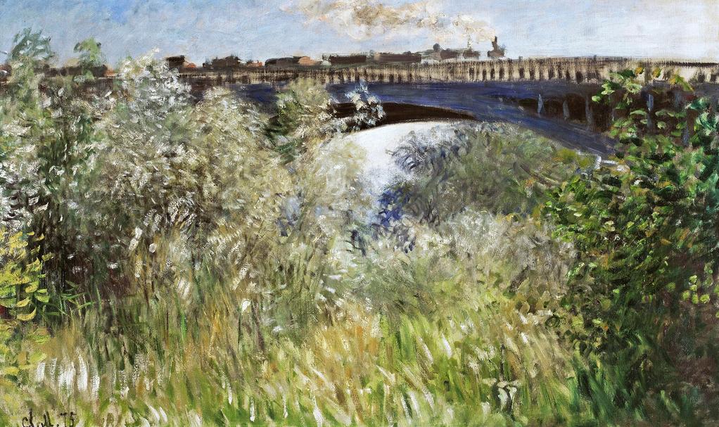 claude monet - Le Pont de Chatou.png