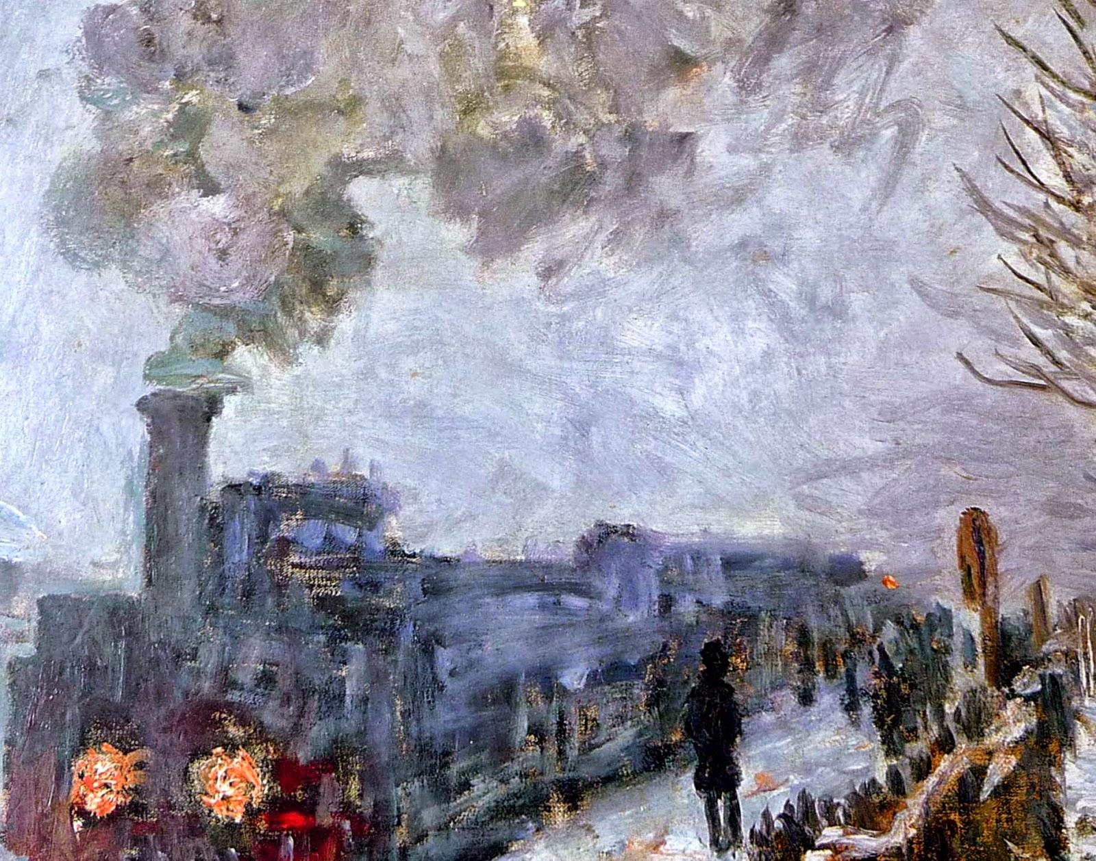 Claude Monet - Le train dans la neige. La Locomotive, 1875.jpg