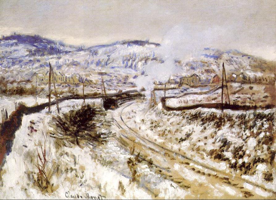 claude monet - Train dans la neige à Argenteuil.png