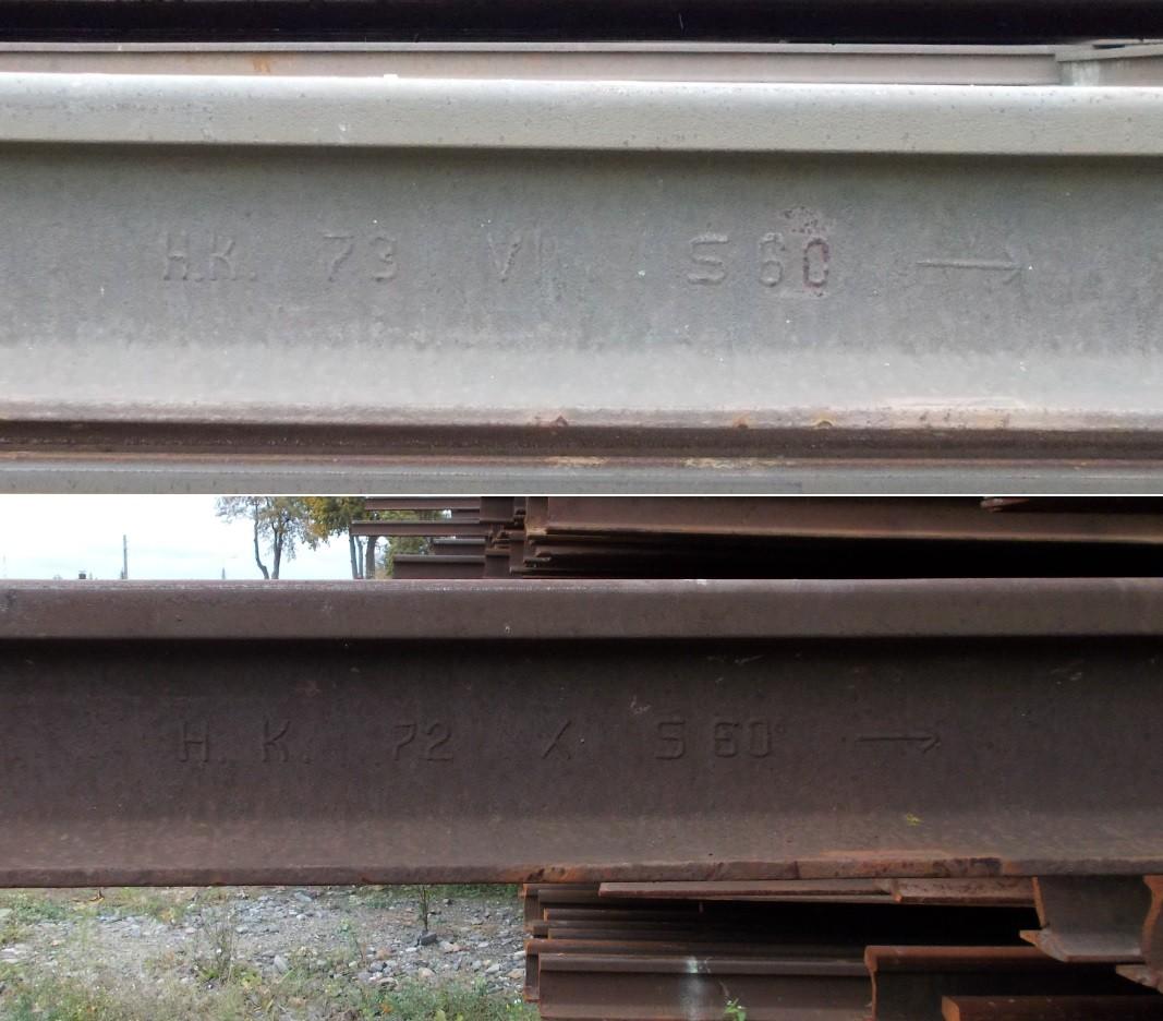 Dziembówko szyny H.K. 73 VII S60 -- oraz H.K. 72 X S60 --.jpg