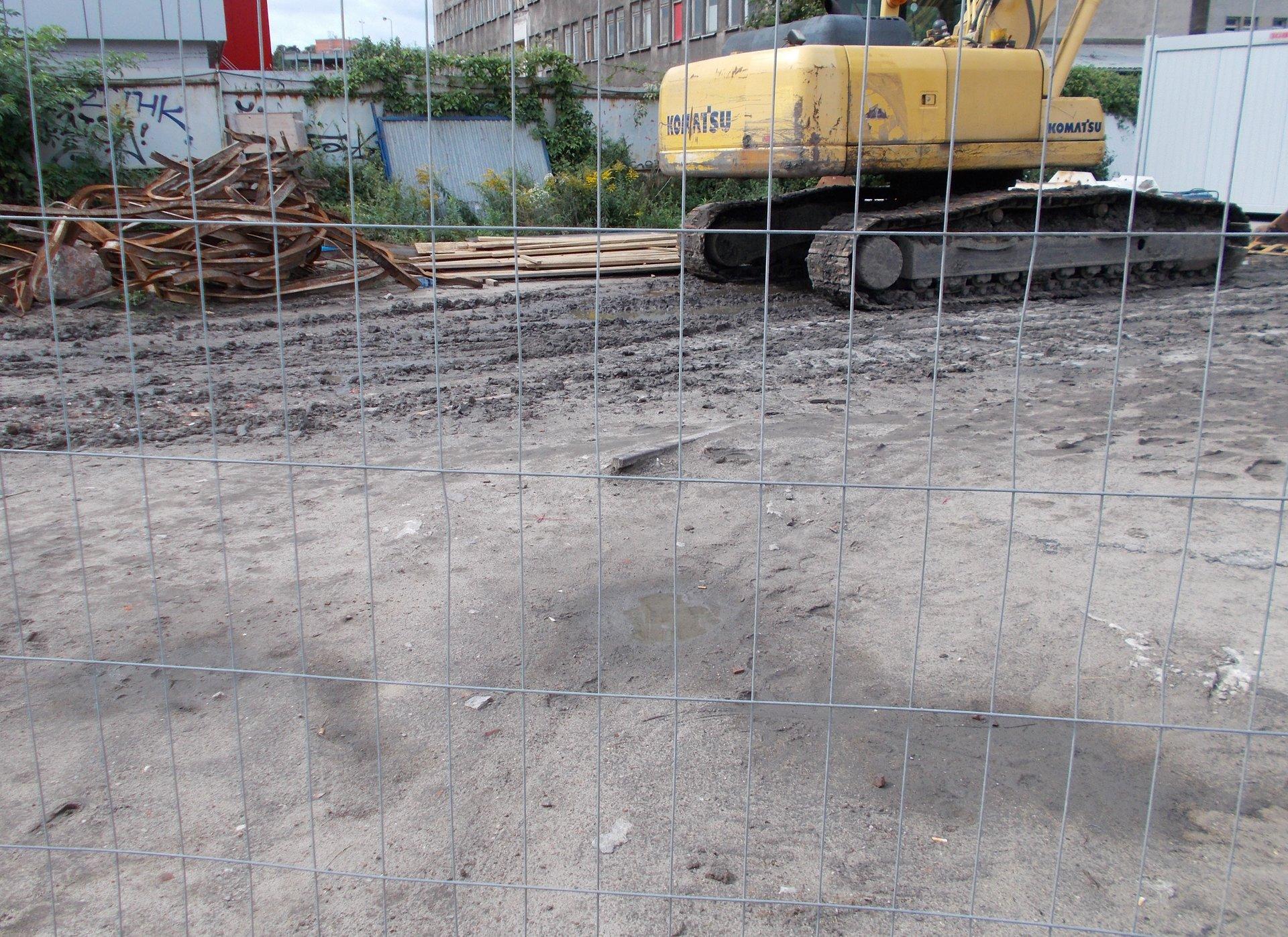 Gdańsk, dawne torowisko w ciągu ulicy Transportowców. 25.08.2018 (5).JPG