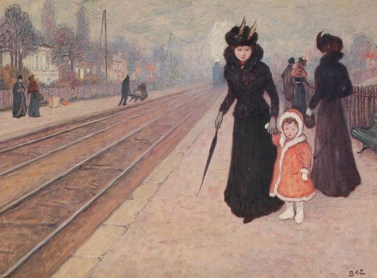 Georges d'Espagnat – Sur le quai.jpg