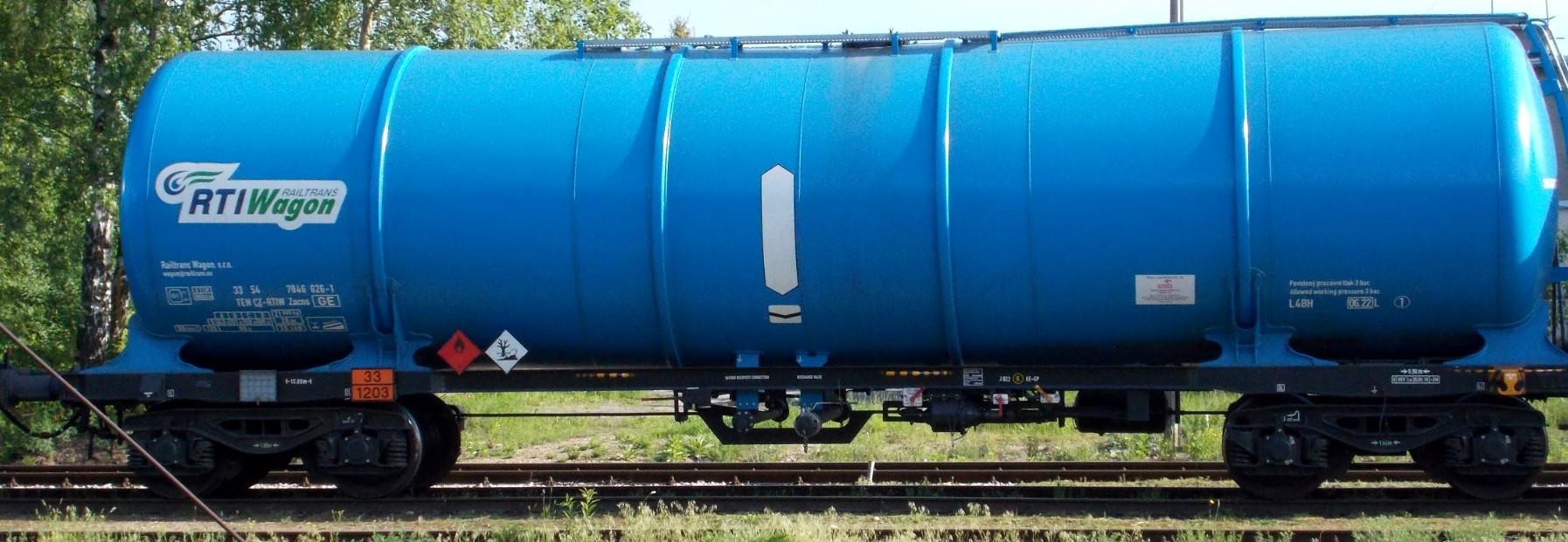 Gutkowo 31.05.2019. Cysterna 33 54 7846 626-1, TEN CZ-RTIW, Zacns - Railtrans Wagon. s.r.o (Cz...jpg