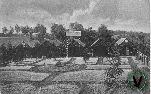 JZ4 Letnisko dla kolejarzy przy stacji kolejowej w Zdroju, lata 30. XX wieku.jpg