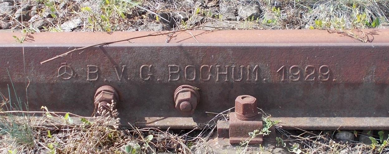 Kierownica rozjazdu B.V.G. BOCHUM. 1929. Pieniężno rozjazd nr 16 (2).jpg