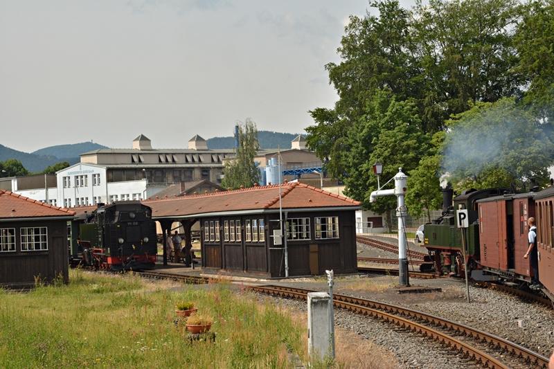 Krzyżowanie na stacji Zittau-Vorstadt..JPG