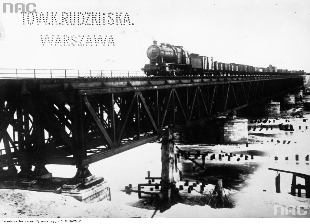 Most kolejowy na Warcie pod Sieradzem styczeń 1927.jpg