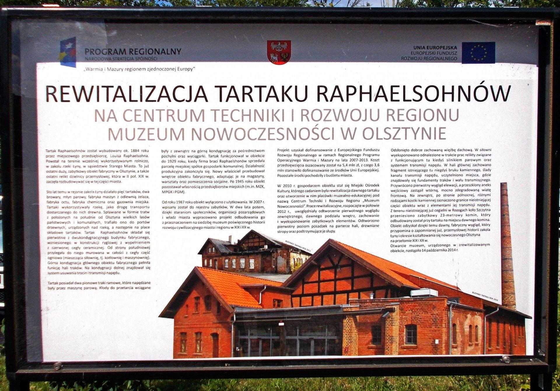 Muzeum Nowoczesności - Tablica informacyjna.JPG
