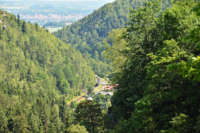 Panorama na fragment linii i m.Zittau..JPG