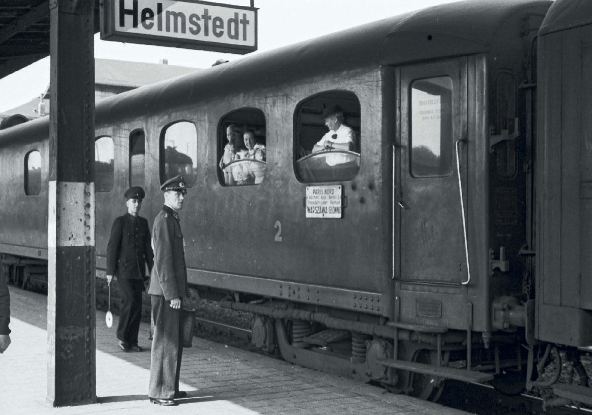 Paris Nord-Warszawa, Helmstedt 24.08.1951.jpg