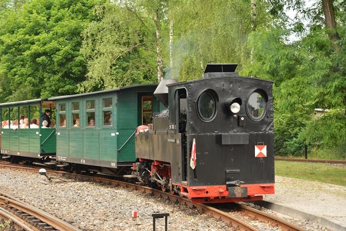 Pasażerów pociągu stanowili emeryci z jakiegoś zakładu naprawy-produkcji wagonów..JPG