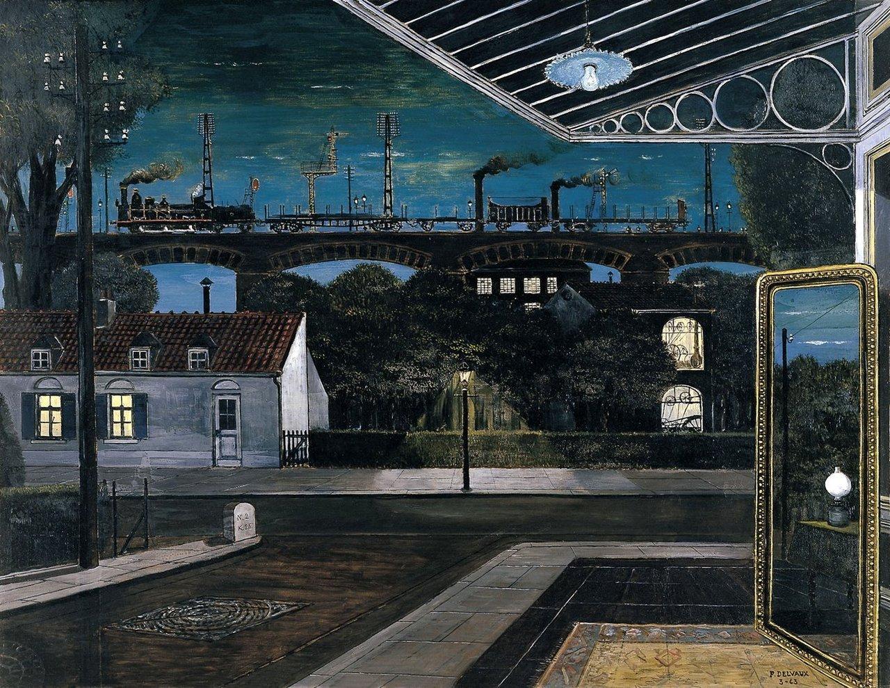Paul Delvaux 'Wiadukt' 1963.jpg