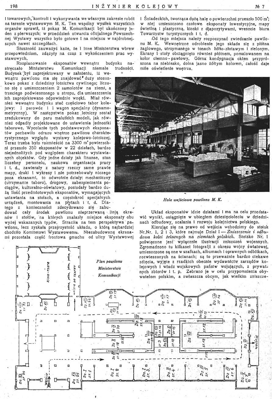 Powszechna Wystawa Krajowa w Poznaniu - Pokaz Ministerstwa Komunikacji (s. 198).jpg