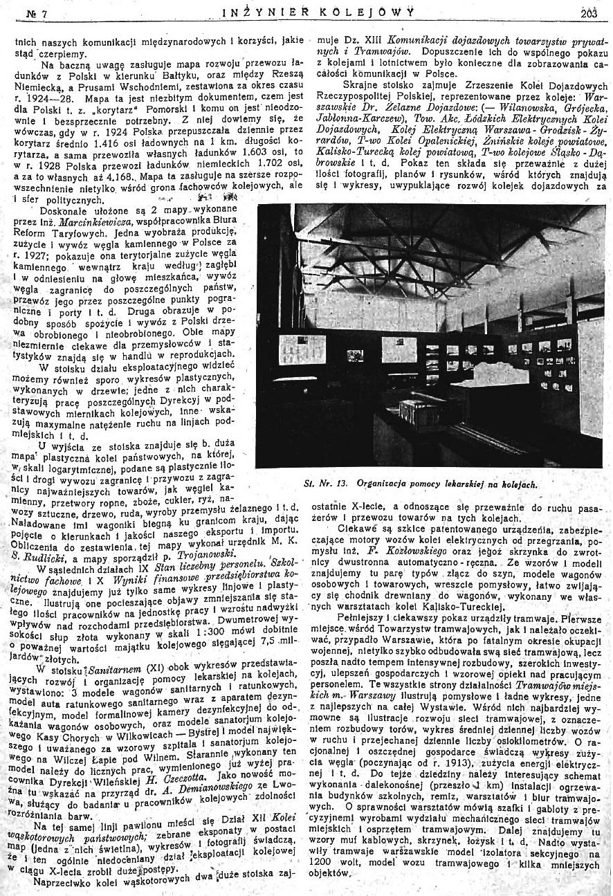 Powszechna Wystawa Krajowa w Poznaniu - Pokaz Ministerstwa Komunikacji (s. 203).jpg