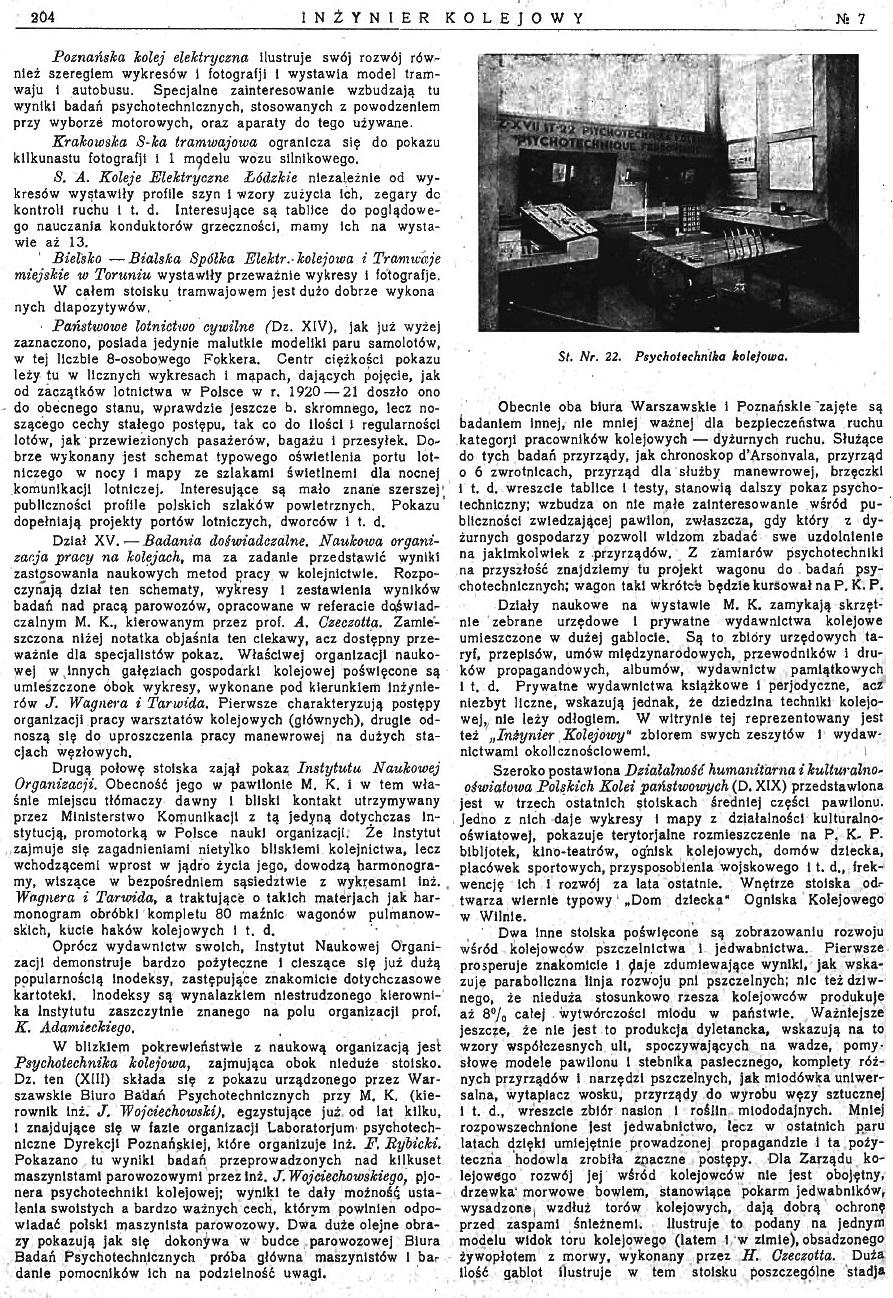 Powszechna Wystawa Krajowa w Poznaniu - Pokaz Ministerstwa Komunikacji (s. 204).jpg