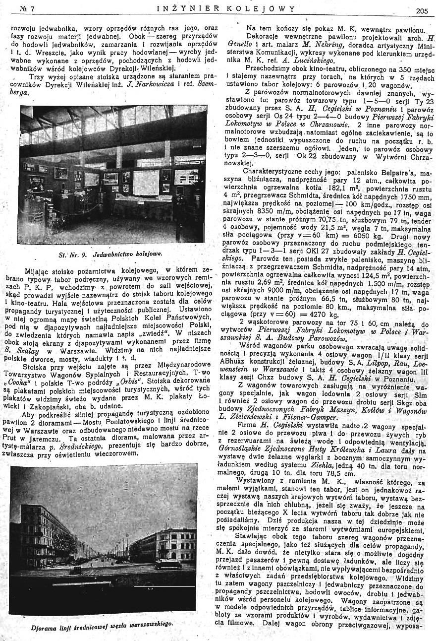 Powszechna Wystawa Krajowa w Poznaniu - Pokaz Ministerstwa Komunikacji (s. 205).jpg