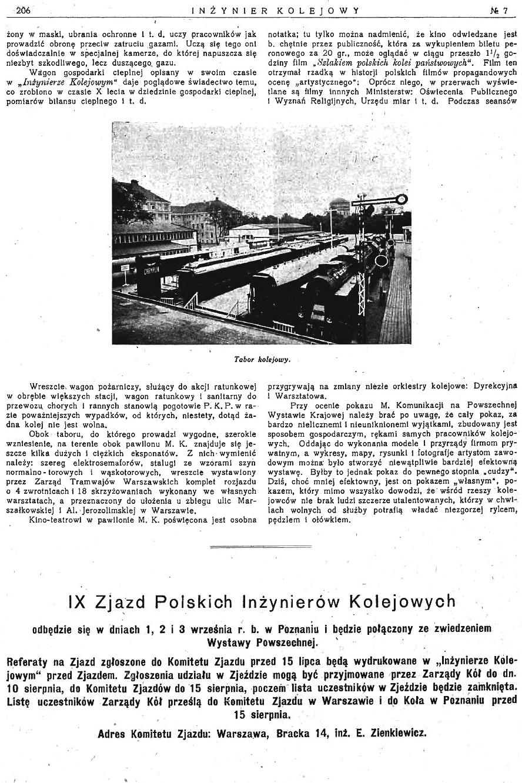 Powszechna Wystawa Krajowa w Poznaniu - Pokaz Ministerstwa Komunikacji (s. 206).jpg