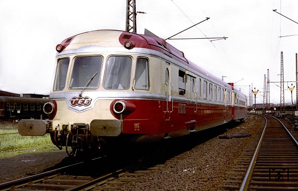 RGP 825 der SNCF, TEE 155-190 Parsifal Paris Nord - Dortmund,  Foto Willi Marotz.jpg