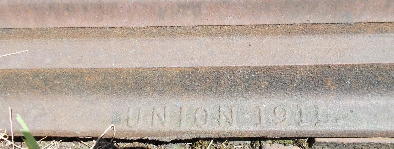 Stacja Dobre Miasto. Rozjazd nr 23. Iglica d, prawa. UNION 1911 (2).jpg