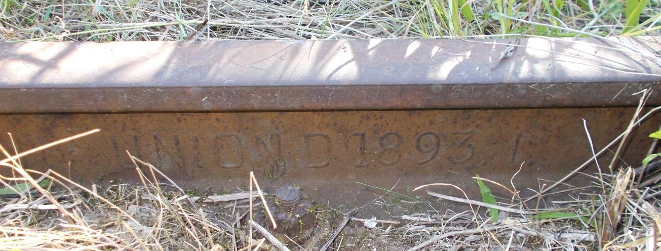 Stacja Dobre Miasto. Rozjazd nr 23. Tor 10, lewa. UNION D 1893. I.jpg