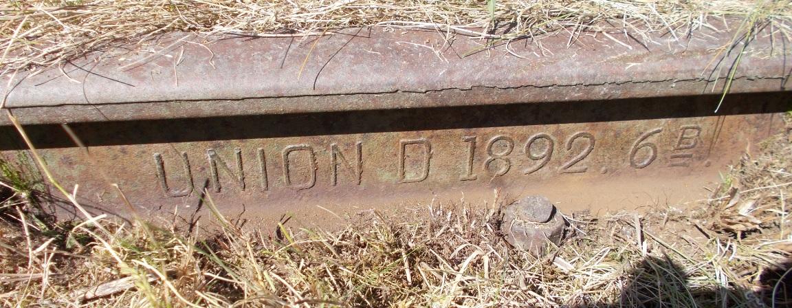 Stacja Dobre Miasto. Rozjazd nr 23. Tor zwrotny 23-24, lewa. UNION D 1892. 6 B.jpg