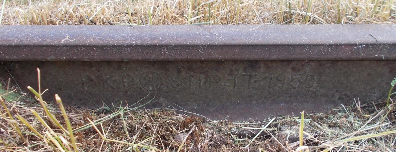 Stacja Dobre Miasto. Tor 3, prawa, wys. reliktów żurawia wodnego. HP S. 1950.jpg
