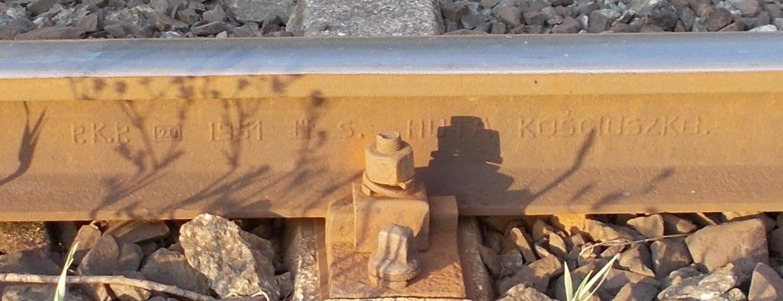 Stacja Dobre Miasto. Tor szklakowy na Olsztyn, prawa, kilometraż 21.8 - 21.9. HK S. 1951.jpg