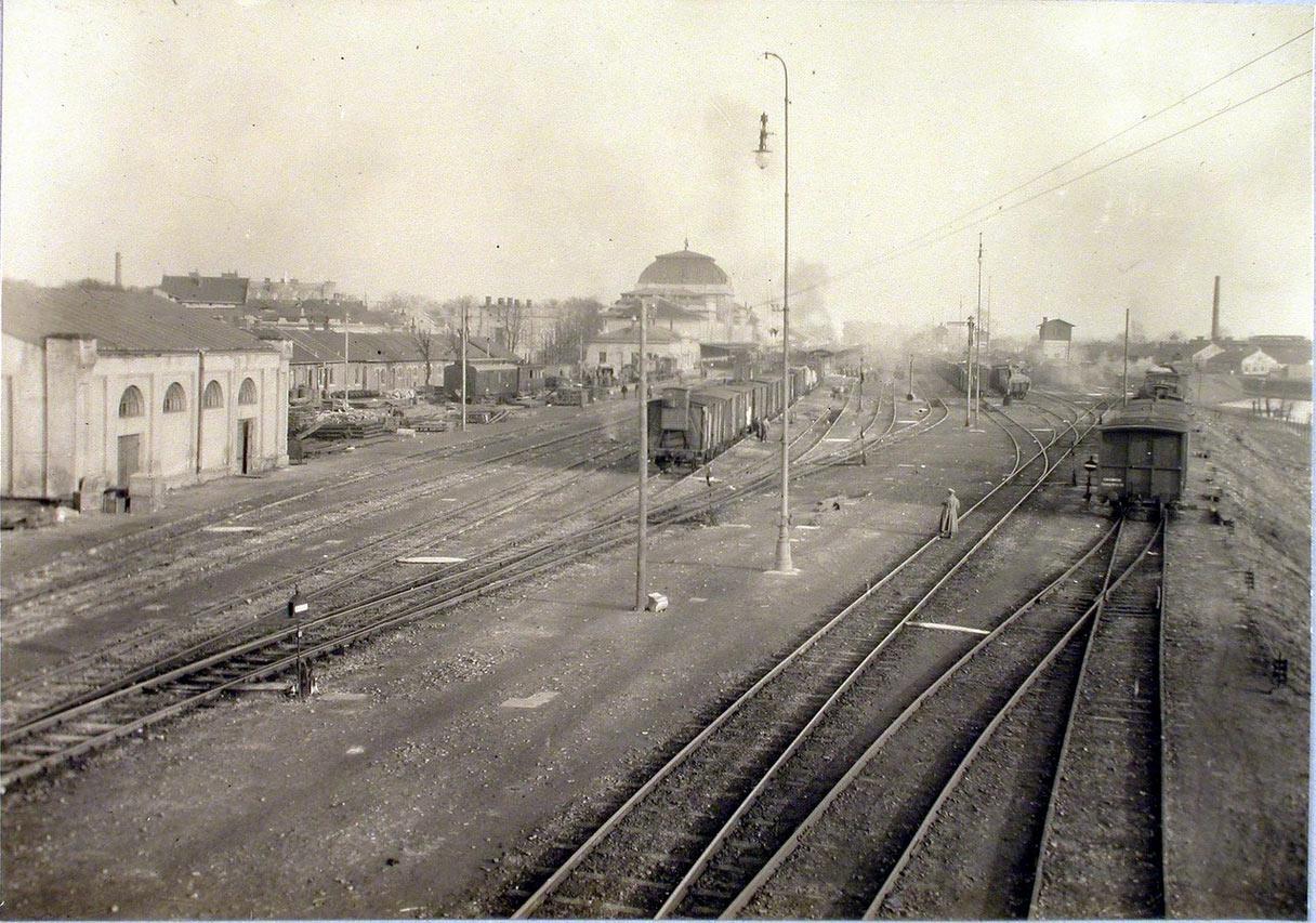 Stacja Tarnów. Galicja. 1914-1915.jpg