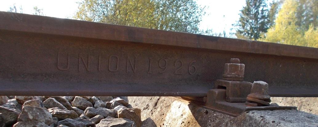 UNION 1926 - Orneta, tor szlakowy przed rozjazdem nr 1.jpg