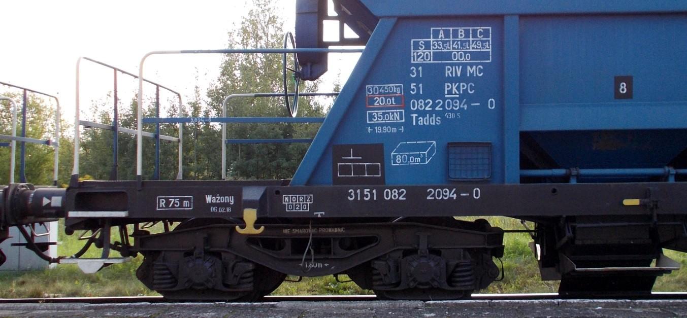 Wagony typu 430S (Tadds) na stacji Dobre Miasto 09.09.2019 (5).jpg